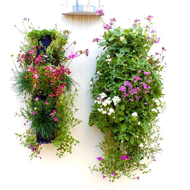 Väggplantering vertikal, Flower Tower