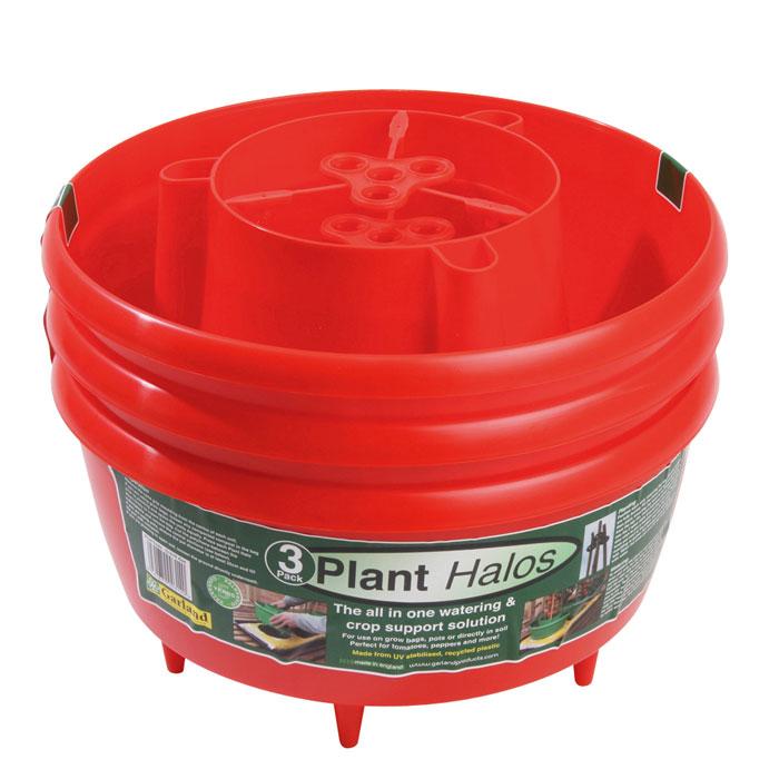 Plantkrage 3-pack - Röd-Plantkrage för odling i säck
