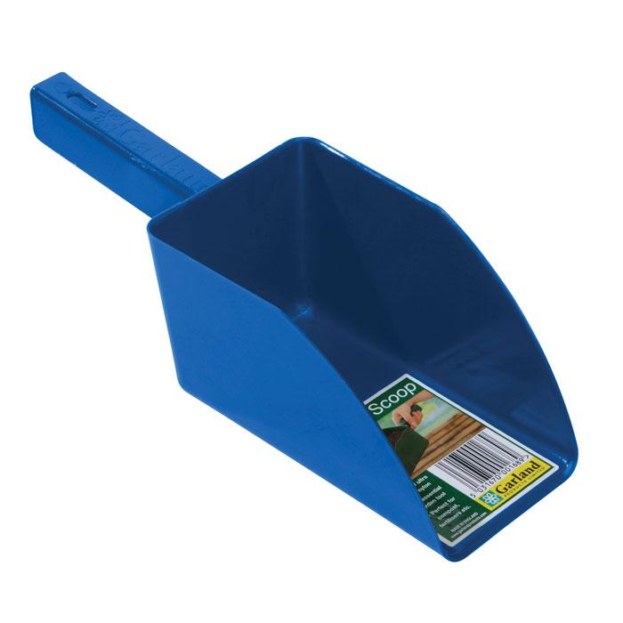Jordskopa - Garden scoop - blå, Jordskopa i återfunnen plast