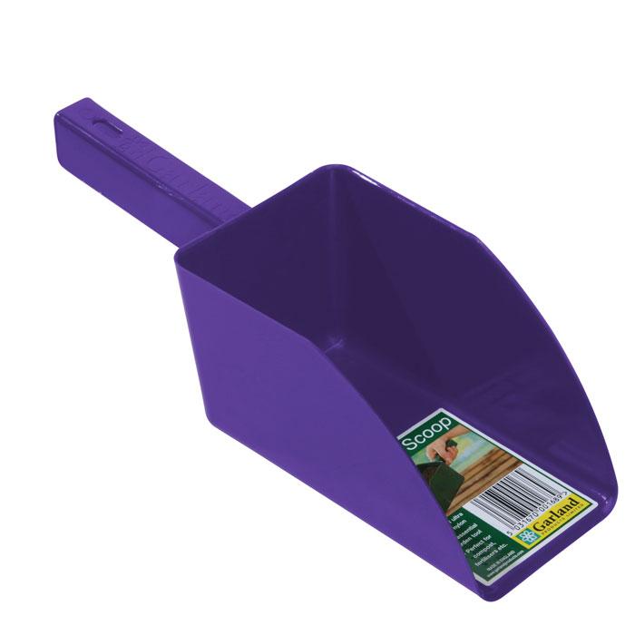 Jordskopa - Garden scoop - lila, Jordskopa i återfunnen plast