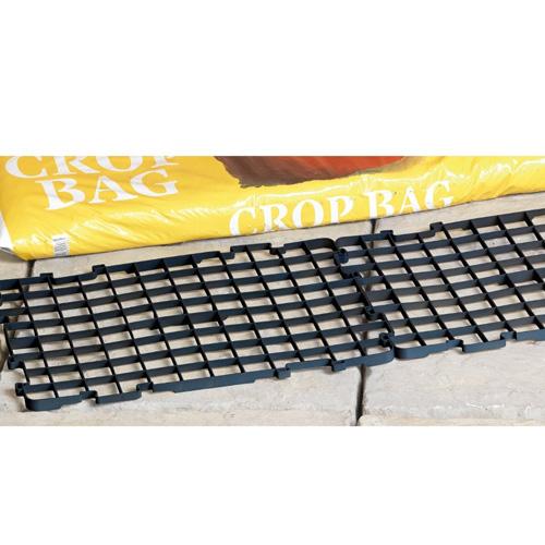 Grow Grids - Bevattning/dräneringsgaller, Självvattnande bricka för fönsterbrädan