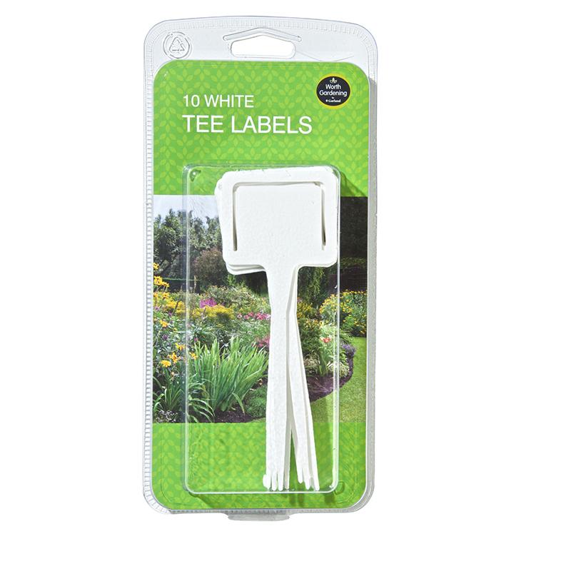 Vitaa plantetiketter för frösådd och plantor.