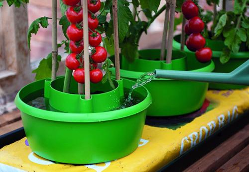 Grow Bag - odlingsbricka, Odlingsbricka för jordsäck och odlingssäckar