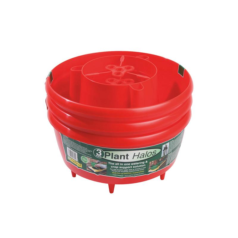 Plantkrage 3-pack - Röd, Plantkrage för odling i säck