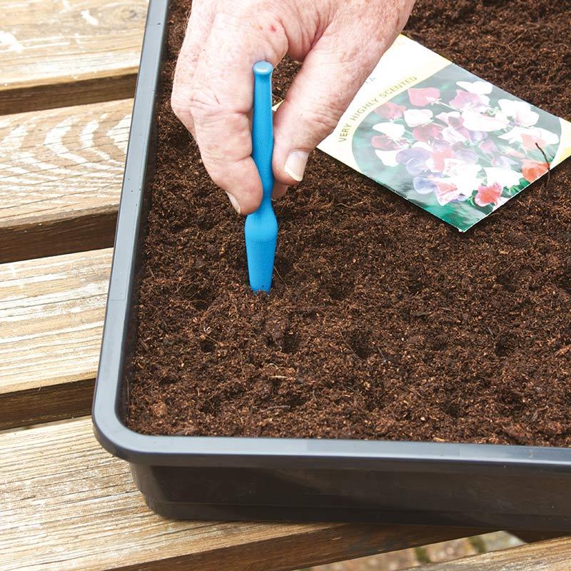 Prickelpinne för plantering av fröer och plantor