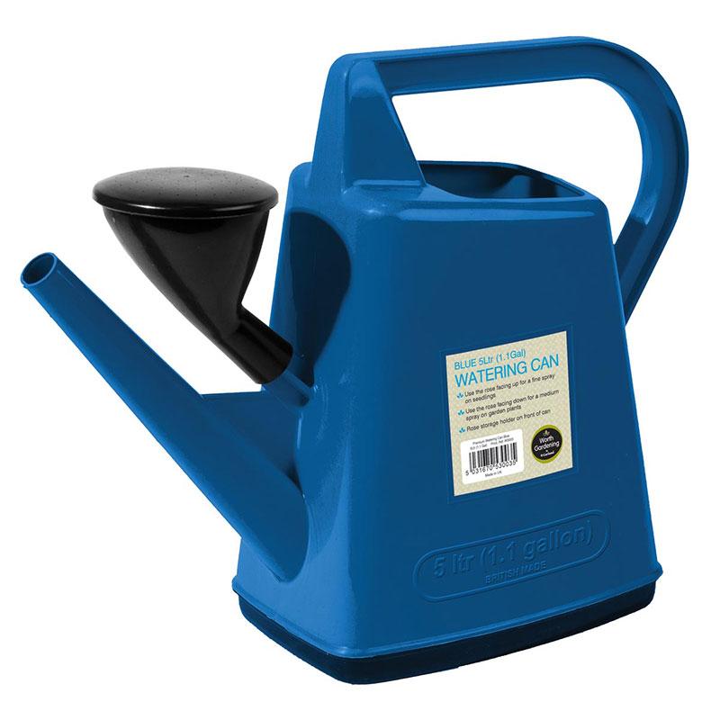Blå vattenkanna 5L