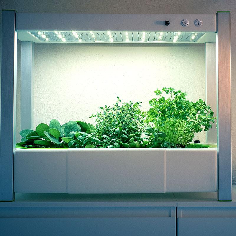 GreenUnit 2.0 odlingssation för odling inomhus