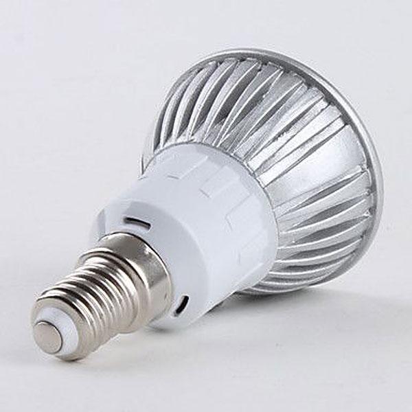 LED-lampa Growspot 4W E14-sockel röd/blå,