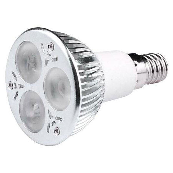 LED-lampa Growspot 4W E14-sockel röd/blå, Växtlampa led 4watt med E14 sockel röd/blå