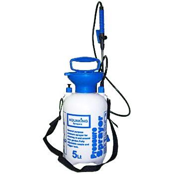 Tryckspruta Aquaking 5 Liter-Sprayflaska med tryck för trädgården
