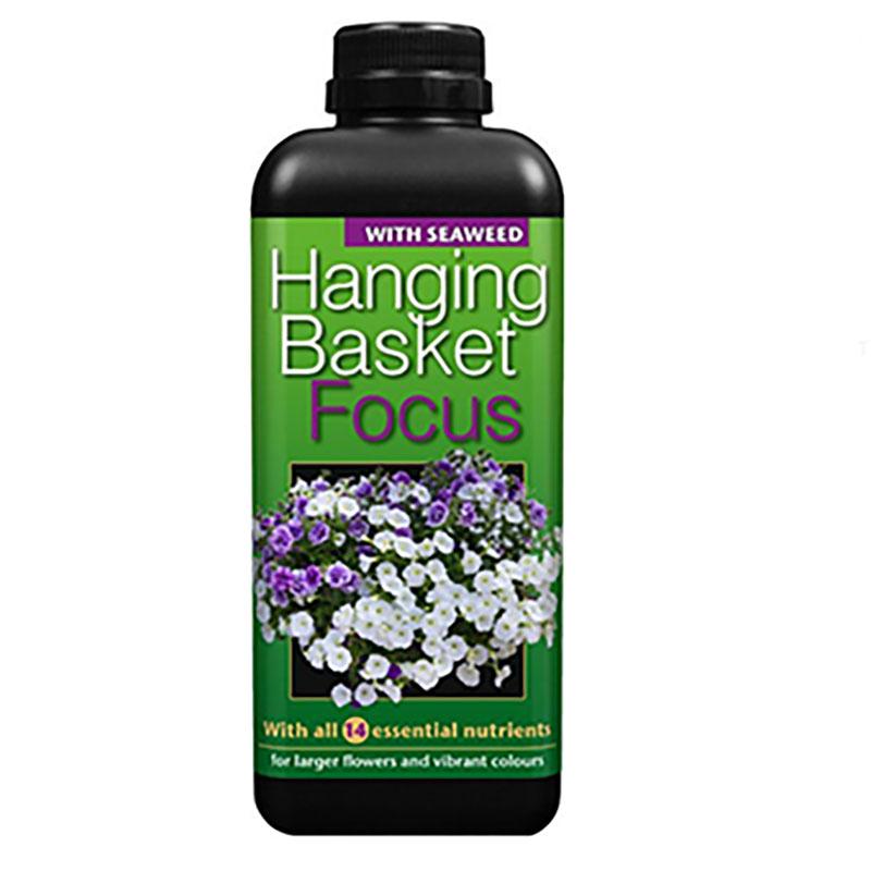 Hanging Basket Focus, 1 Liter, Specialnäring för sommarblommor