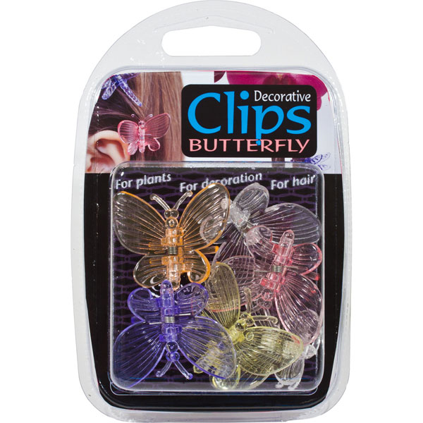 Orkidéclips - Butterfly - 6-pack,
