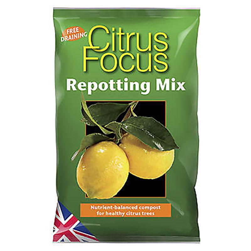 Citrus Focus - citrusjord, 8 liter-Citrus Focus, jord för citrus- och olivträd