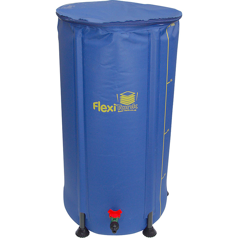 FlexiTank - 100 liter, FlexiTank, 100 liter uppfällbar vattentunna