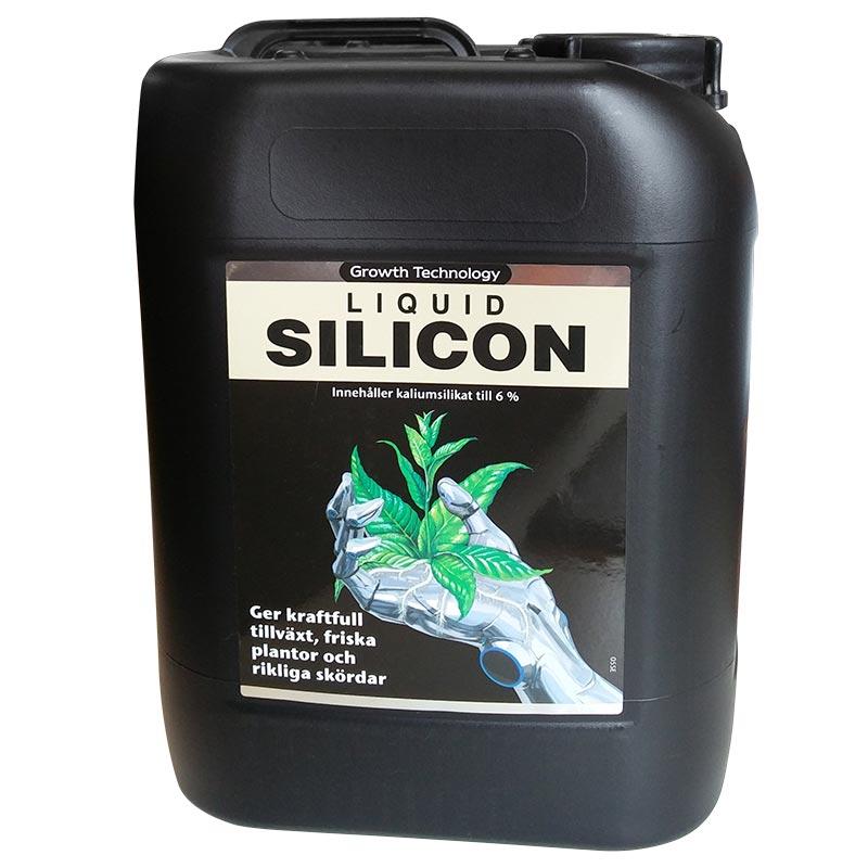 Liquid Silicon ger bra upptagning av näringsämnen och transporteringen i växten