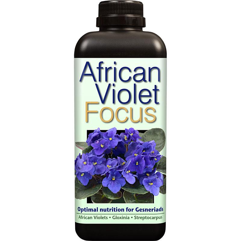 African Violet Focus - Näring för St Paulia mfl, 1L-Specialnäring för St Paulia och övriga Gesneriaceae-släktingar