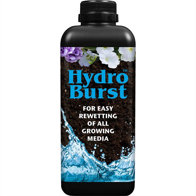 HydroBurst vätningsmedel 1L, Vätningsmedel för torr jord i kruka