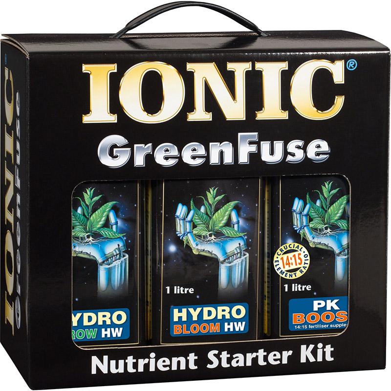 IONIC Nutrient Starter Kit - Coco #-IONIC växtnäring för odling i kokos