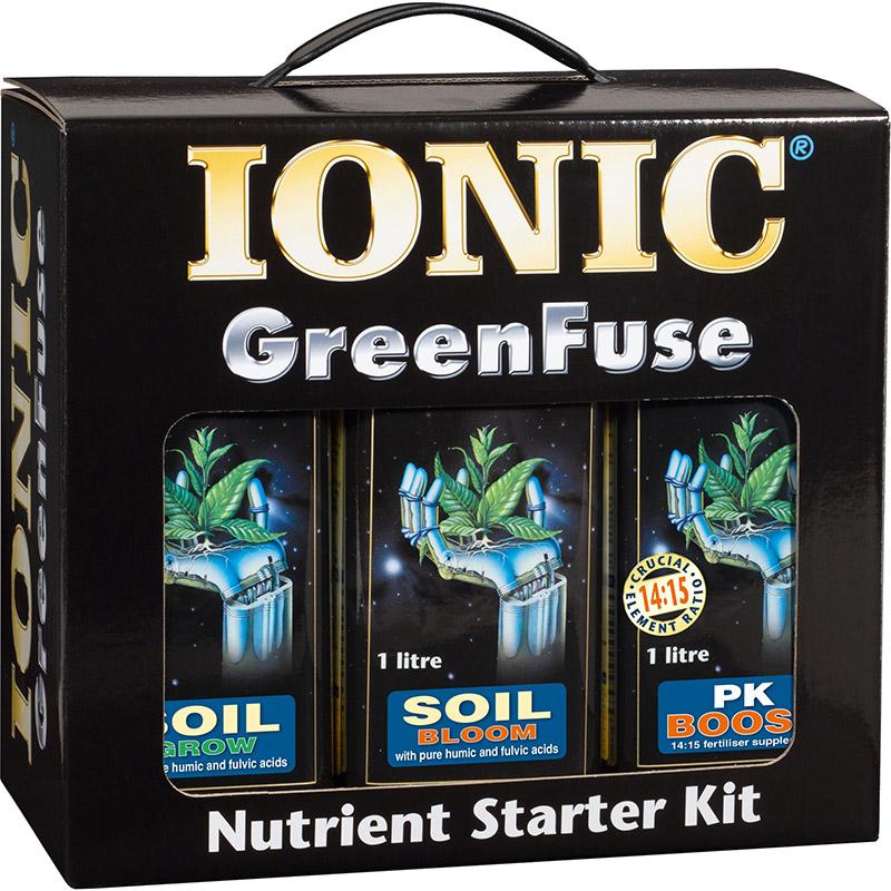 IONIC Nutrient Starter Kit - Soil-IONIC växtnäring för odling i jord