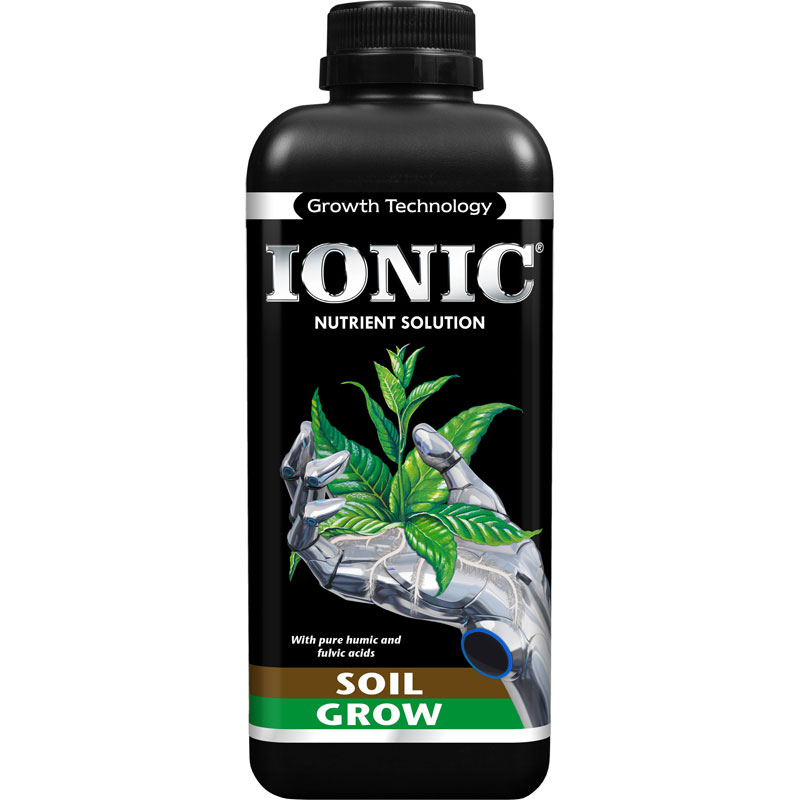 IONIC Soil Grow, 1L-IONIC Soil Grow, 1 liter plantnäring