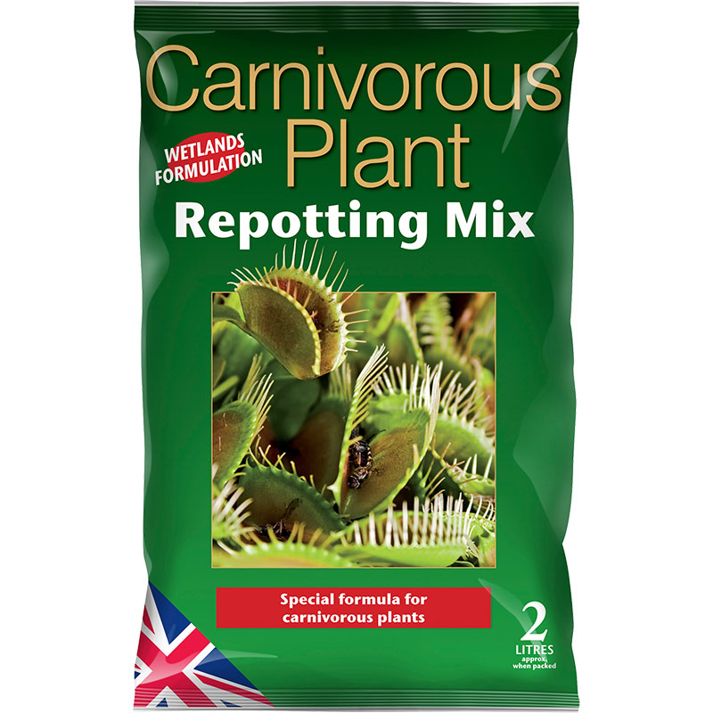 Carnivorous Plant Repotting Mix - specialjord för köttätande väter