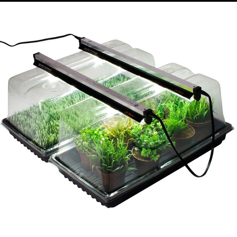 NanoDome - växthus med lamphållare, NanoDome plantväxthus