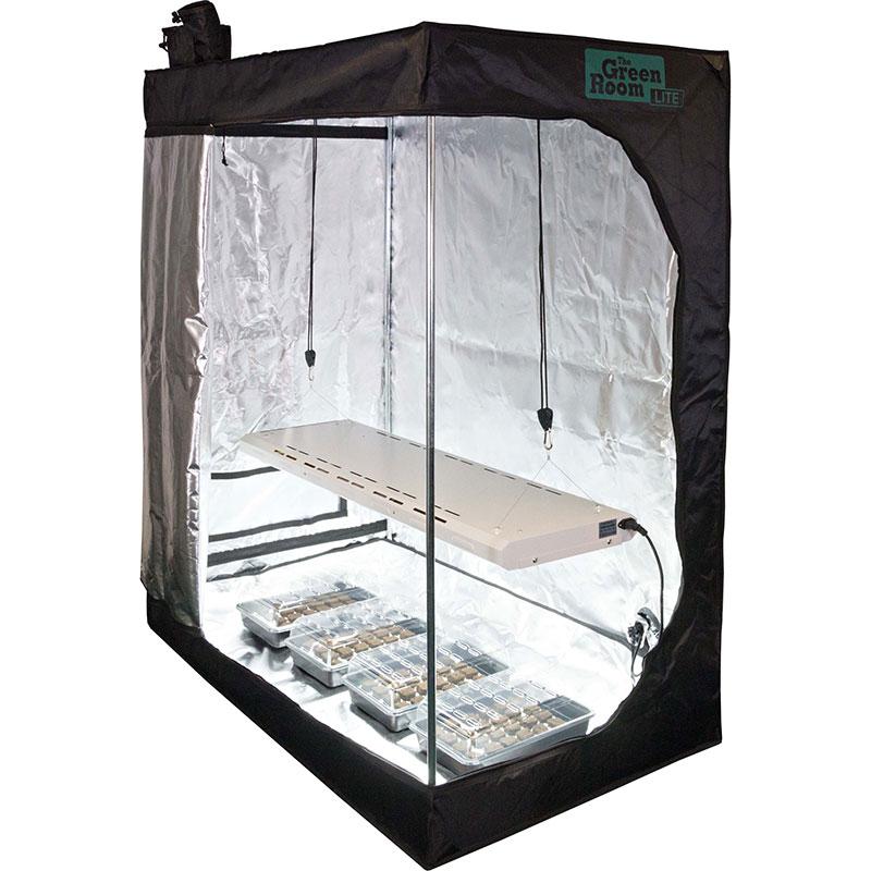 Odlingstält Green Room LITE 80, Odlingstält med växtbelysning