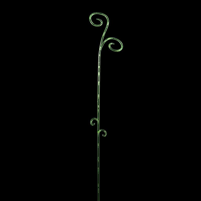 Orkidestöd - Elegante Support, gröna - 2-pack-Växtstöd till orkideer