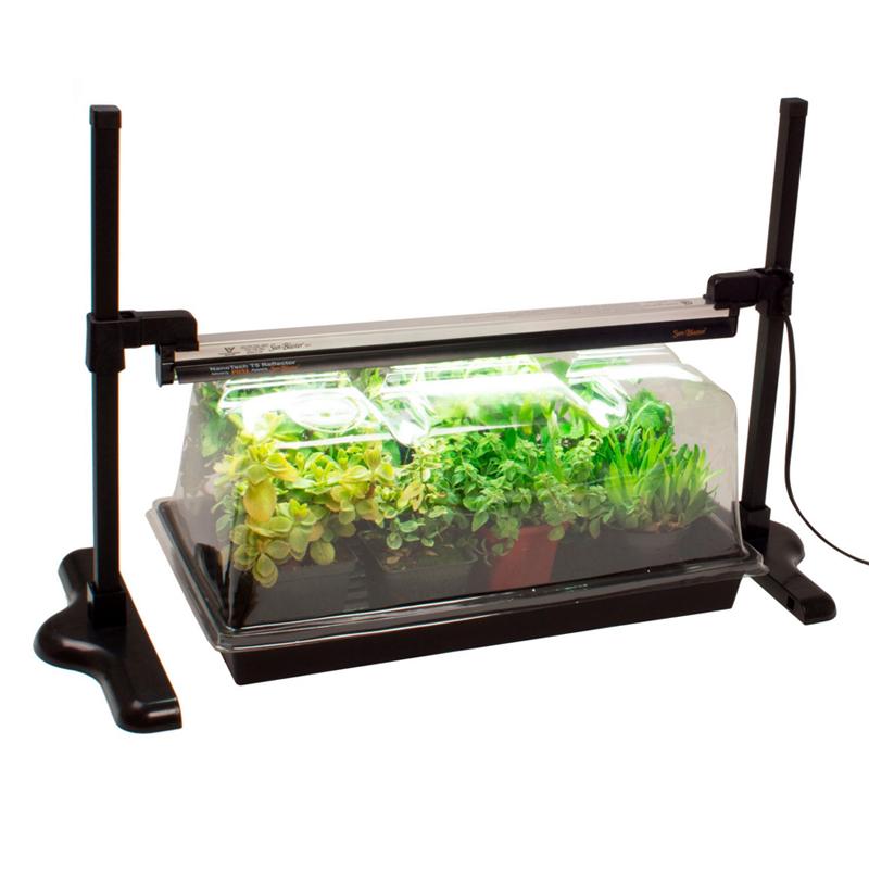 Ställning till växtlampa Sunblaster-Höjbar och sänkbar hållare till Sunblaster