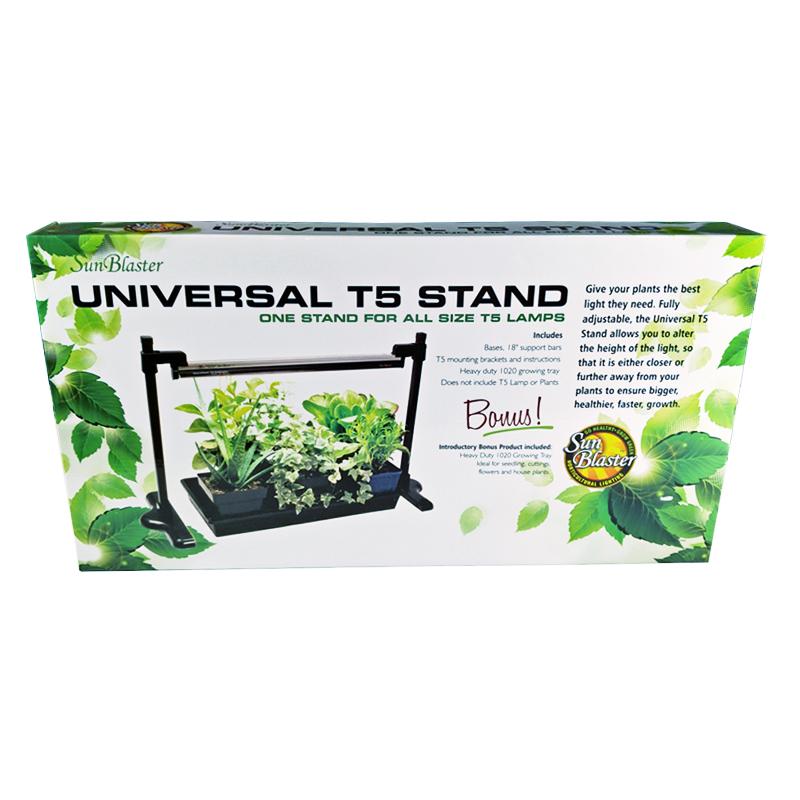 Ställning till växtlampa Sunblaster, Höj- och sänkbar lampställning till växtbelysning