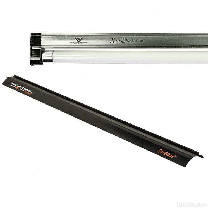 Växtlampa T5, 54 watt med reflektor, Sunblaster Combo, Växtlampa T5 Sunbalster 54 watt
