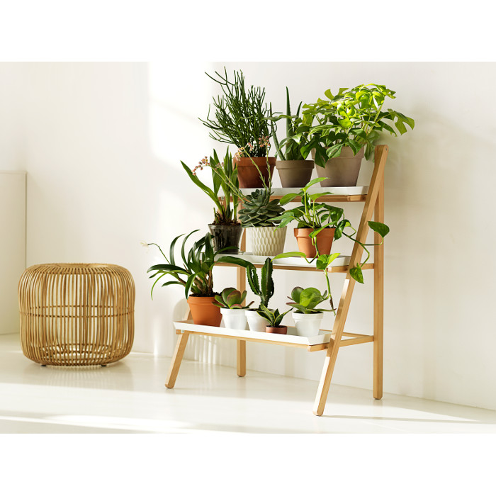 Gröna trappan #-Blomtrappa, växttrappa i klassisk design