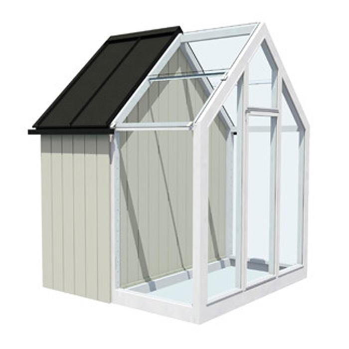 Trädgårdslider - Spira-Växthus trädgårdslider Iver från Hasselfors
