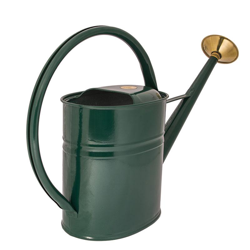 Rostfri vattenkanna, Slimcan, grön