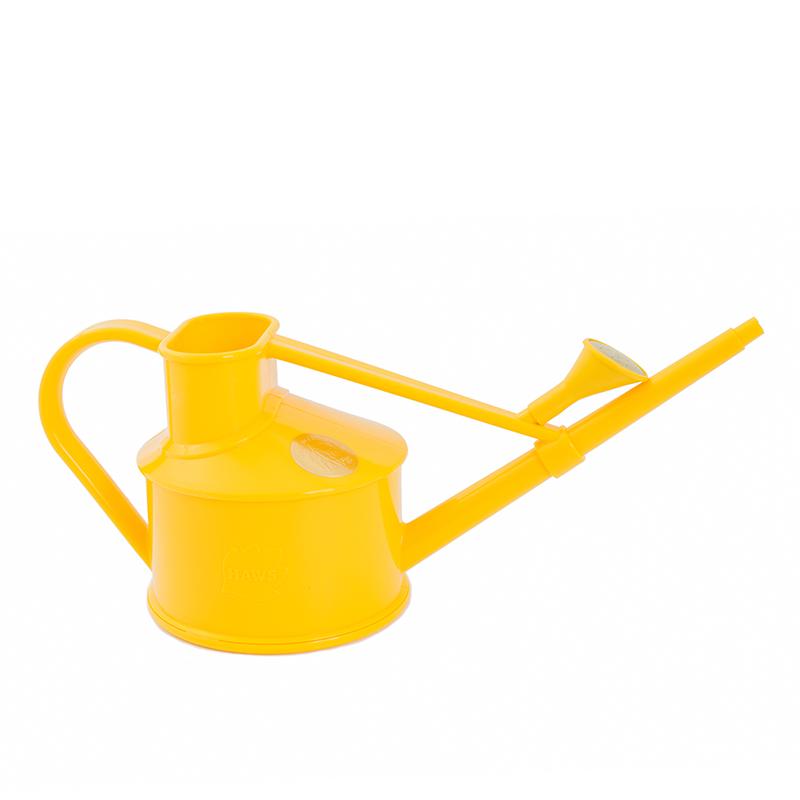 Plastvattenkanna Handy Indoor, för bevattning inomhus, gul, 0,7 liter