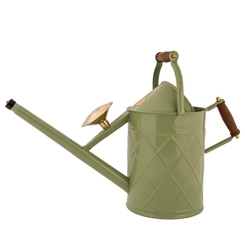 Heritage, rostfri vattenkanna från engelska HAWS, salviagrön, 8,8 liter