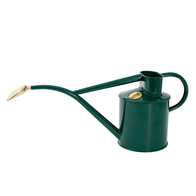 Vattenkanna, pulverlackad, grön, 1 L, Vattenkanna från Haws, 1 liter grön med stril