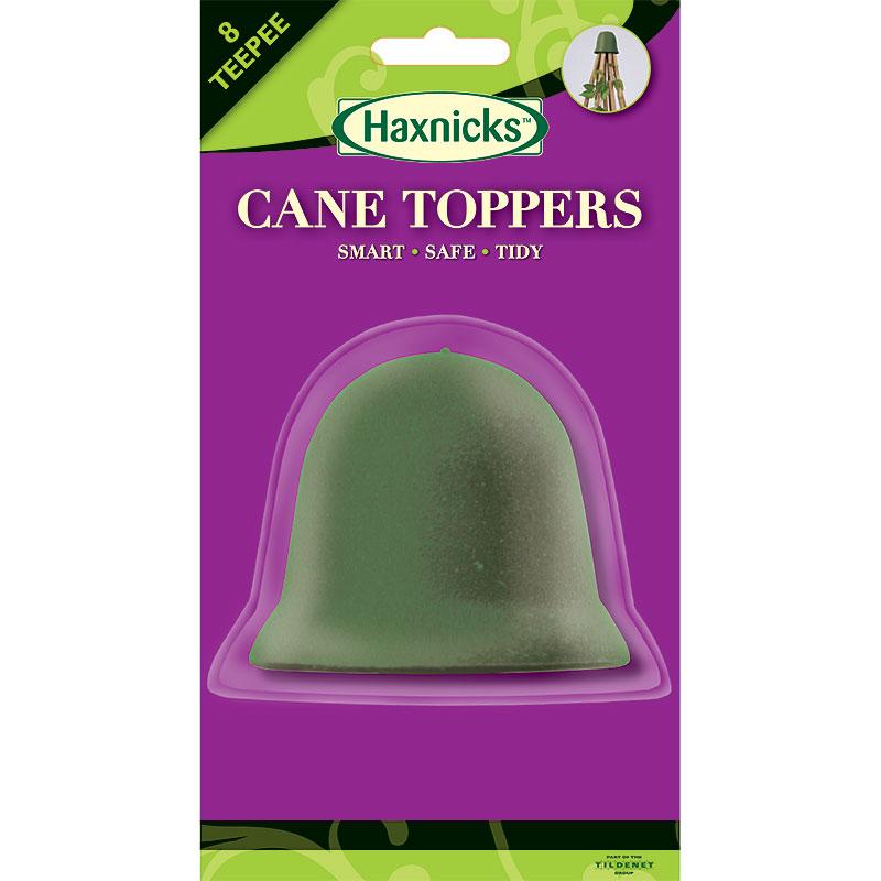 8-CaneToppers, växtstöd, olivgrönt