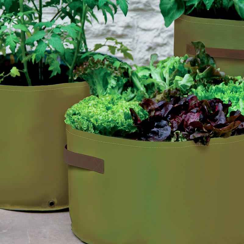 odlingssäck för odling på balkong och terrass
