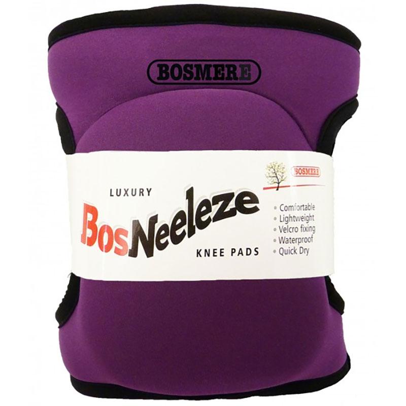Knäskydd BosNeeleze, purple-Knäsydd i memoryfoam för trägårdsarbete, Purple