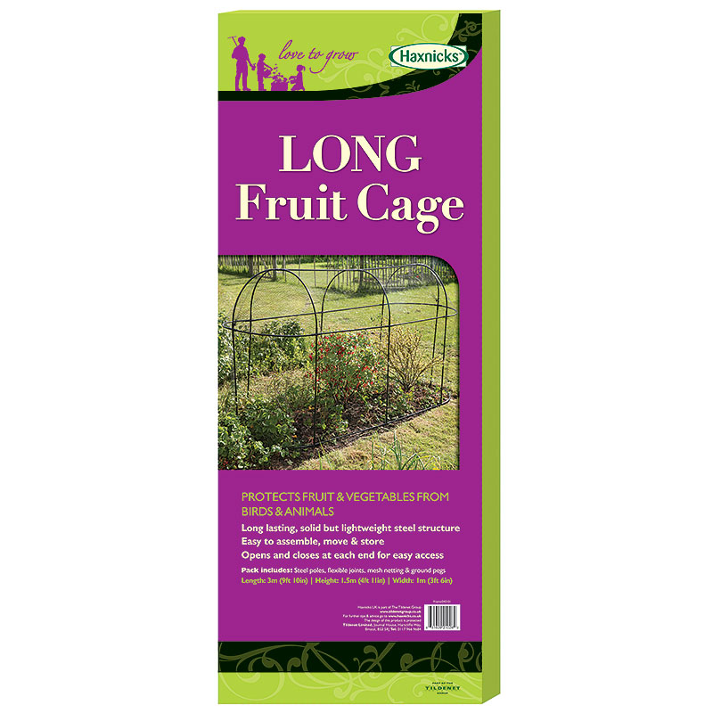 Odlingsbur Long Fruit Cage, Förpackning till Long Fruit Cage Odlingsbur