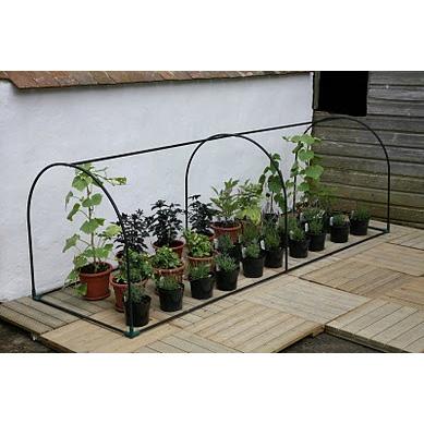 Bågväxthus Grower-Bågväxthus i litet format