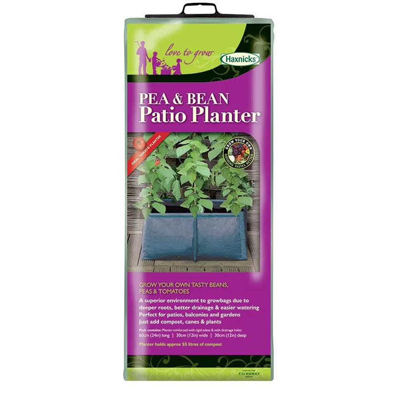 Odlingssäck för olika sorters baljväxter