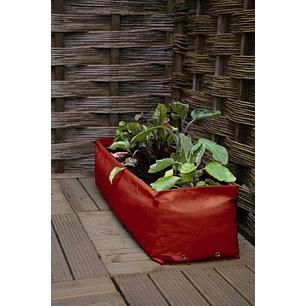 Odlingssäck - Short Balcony Patio planter, 2-pack-odlingssäck för odling  på balkong och terass