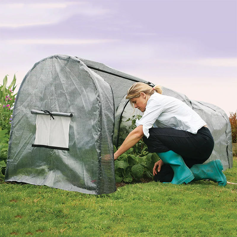 Polyetenskydd för bågväxthus Grower