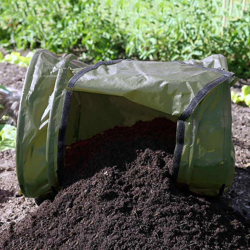Behållare för trädgårdsavfall - rullkompost