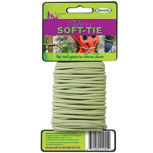 Uppbindning Slim Soft-Tie-Uppbindning av växter