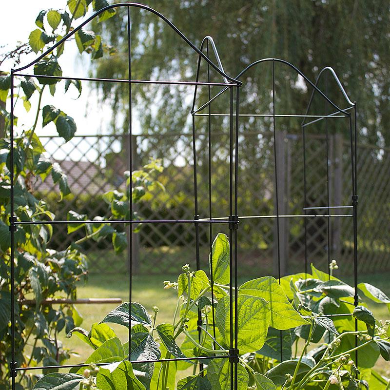 Växtstöd Fold-a-Frame-Tredelat, vikbart växtstöd