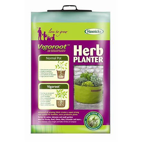 Odlingssäck Vigoroot Herb Planter,