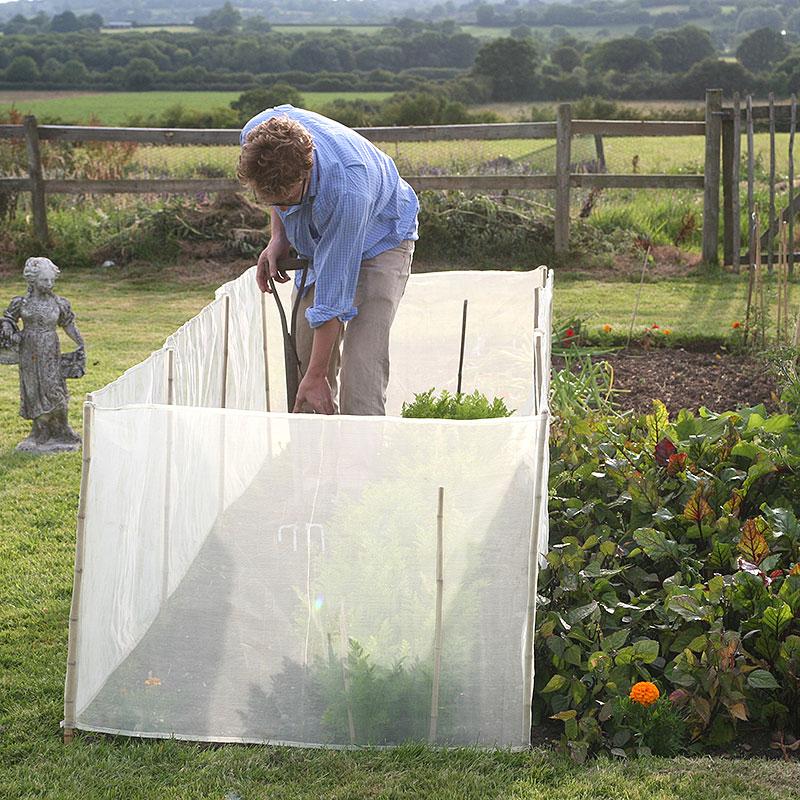 Micromesh vindskydd, 2-pack-Vindskydd för köksträdgården  nät